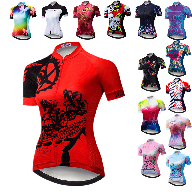 Weimostar 2020 Cycling Jersey Women Quick Dry MTB Jersey Mountain Bicycle Shirt Road Cycling Clothing Pro Team Riding Clothes