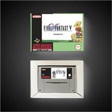 Son oyunu fantezi V 5   EUR sürümü RPG oyun kartı pil tasarrufu perakende kutusu ile