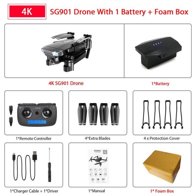 SG901 4K 1B Foam Box