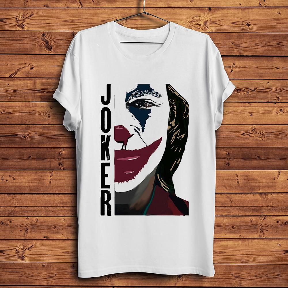 Joker 2019 Joaquin Phoenix funny   t  -  shirt   men summer new white casual homme TShirt unisex streetwear   t     shirt