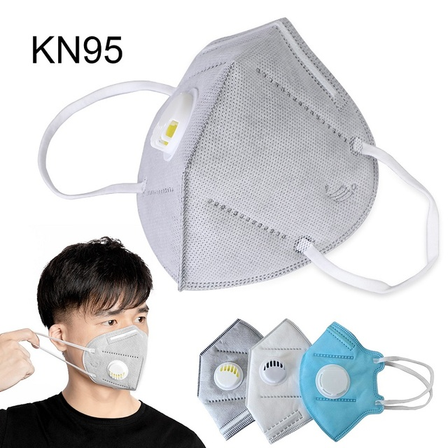 50pcs KN95 Mask 5 Layers Dust Flu Anti Infection N95 Masks Particulate Respirator ffp2 Protective Safety Same As KF94 FFP3