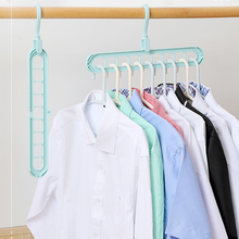Clothes Hanger Organizer Multi-Port Baby Coat Hanger Drying Racks Support Plastic Scarf Cabide Storage Rack Hangers For Clothes