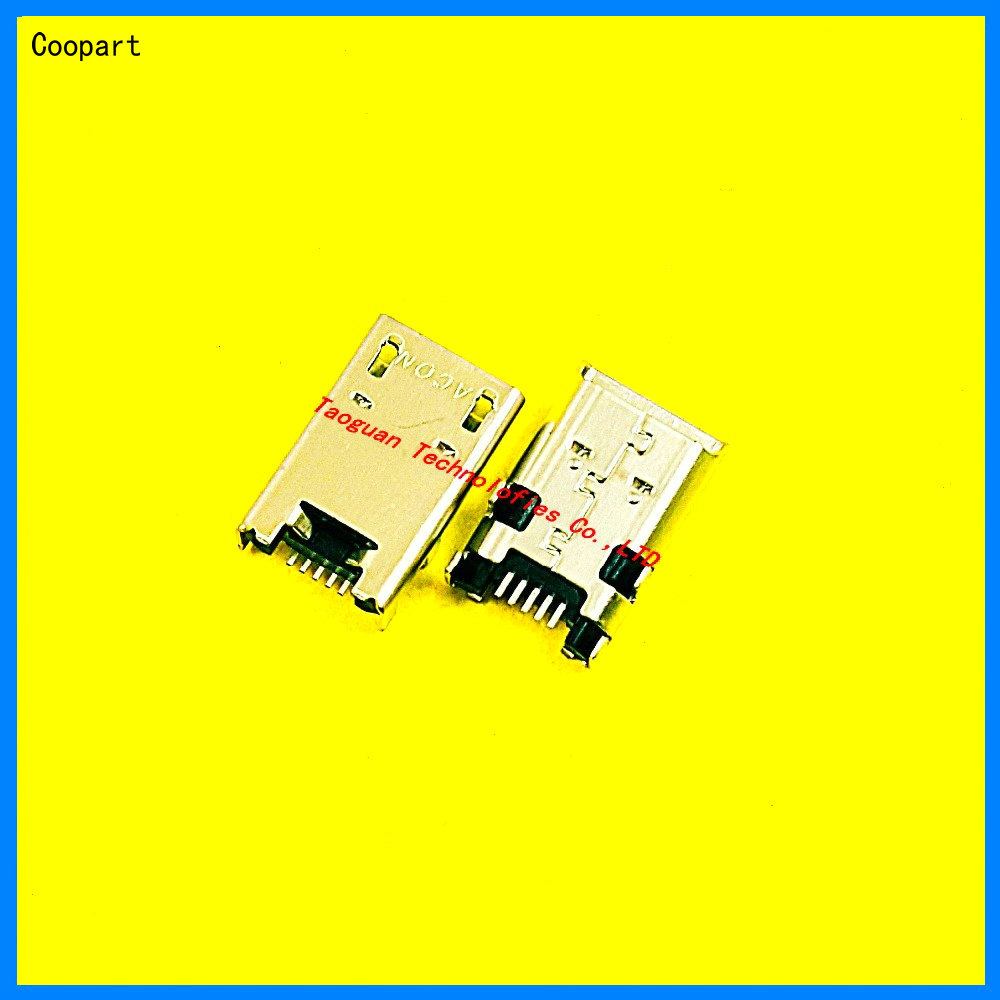 2ps/lot Coopart New USB Charging Port Dock Connector For Asus MemoPad 10 K001 ME/102/301/372/180/T Free Tracking