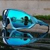 Ciclismo óculos de sol das mulheres dos homens da bicicleta de estrada equitação correndo óculos oculos ciclismo mtb fietsbril gafas 1 lente 24
