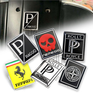 Image 4 - עבור וספה תג אופנוע מול לוח כיכר מדבקת ראש Fairing כיסוי GTS 250 300 ספרינט Primavera LXV GTV LX PX S 150 125
