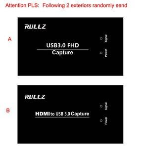 Image 4 - מלא HD USB 3.0 HDMI משחק וידאו לכידת הקלטת כרטיס עבור MAC Win10 פייסבוק Youtube OBS עווית פגישה חיצונית לחיות הזרמת