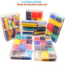 164/328/560/580 stücke boxed schrumpf schläuche 2:1 elektronische DIY kit draht verbindung werkzeug zubehör daten linie schutz kabel