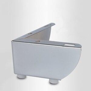 Image 1 - 4pcs 금속 가구 다리 지원 광장 테이블 소파 피트 캐비닛 머리 핀 다리 가구 발 수준 하드웨어 액세서리
