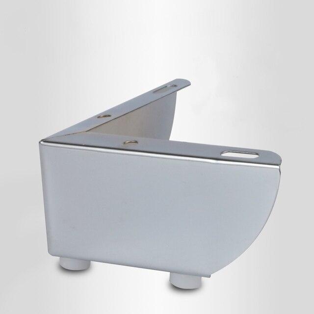 4pcs 금속 가구 다리 지원 광장 테이블 소파 피트 캐비닛 머리 핀 다리 가구 발 수준 하드웨어 액세서리