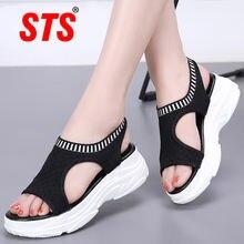 Sts/женская повседневная обувь; Сандалии; Открытый носок; Дышащая