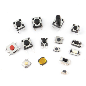 Image 4 - 125pcs/lot touch switch/Micro Switch /push buttons switches 25 Types Assorted kit 2*4/3*6/4*4/6*6 for DIY Tool package