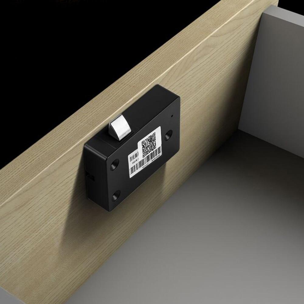 Smart Keyless Fingerprint Cabinet Lock Biometric Electric Lock Fingerprint Drawer Lock for Office Drawer File Cabinet Innrech Market.com
