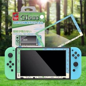 Image 1 - Pellicola protettiva schermo in vetro temperato per incrociare animali accessori Console nintendo Switch