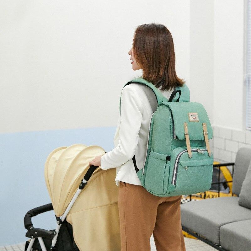Diaper Bag Multi-functional Large-Volume Diaper Bag Mummy Bag Shoulder Mommy Bag Brand New Upgrade Diaperbag