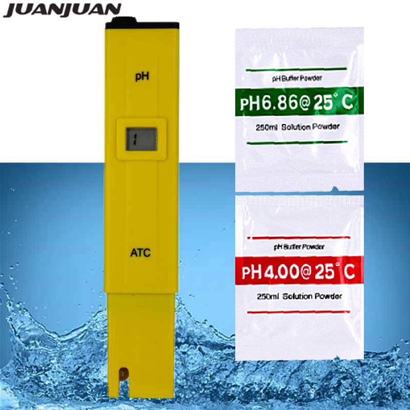 PH-009 PH Meter Water Quality Tester Acidity Tester Water Pool Aquarium Hydroponics Home Brew PH Measurement PH 0-14  40%off