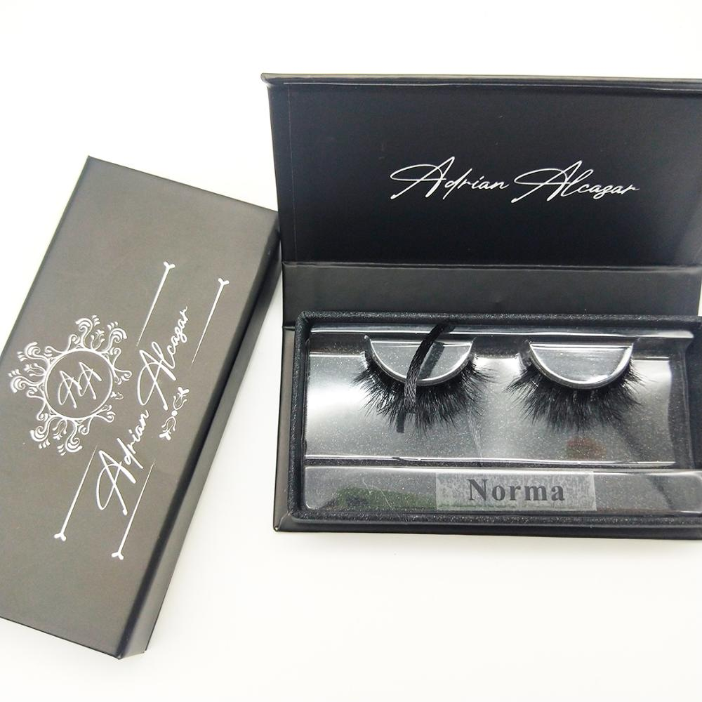 Make Your Own Brand Custom Lash Packaging With Your Logo Eyelash Box Luxury Private Label Custom 3D Mink Eyelash Black Box