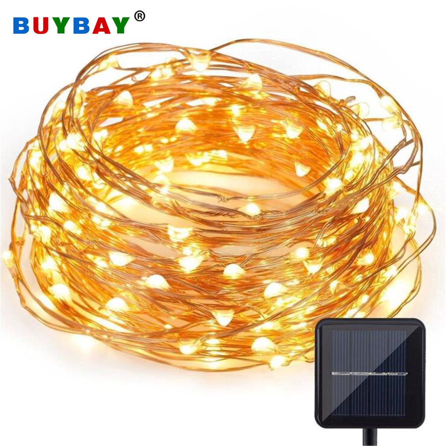 Solar Lamp LED String Outdoor Waterproof RGB Led Fairy Solar Light Sensor Garden Light Patio Yard Christmas Decoration Lawn Lamp