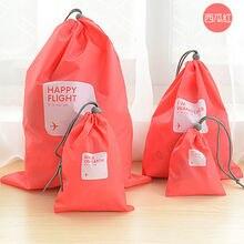 Хит 4 шт/лот Водонепроницаемый сумки для хранения путешествия