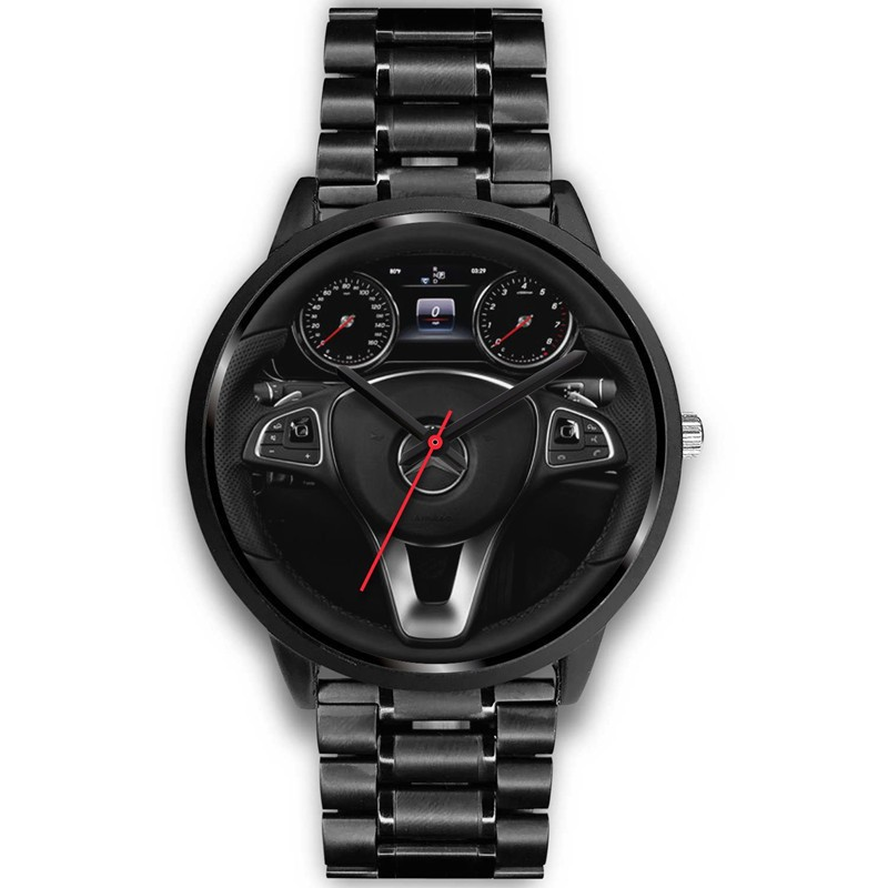 Creative Minimalist Style Classic Precision Fashion Men's Quartz Watch Racing Free Stainless Strap Clock Casual Sports