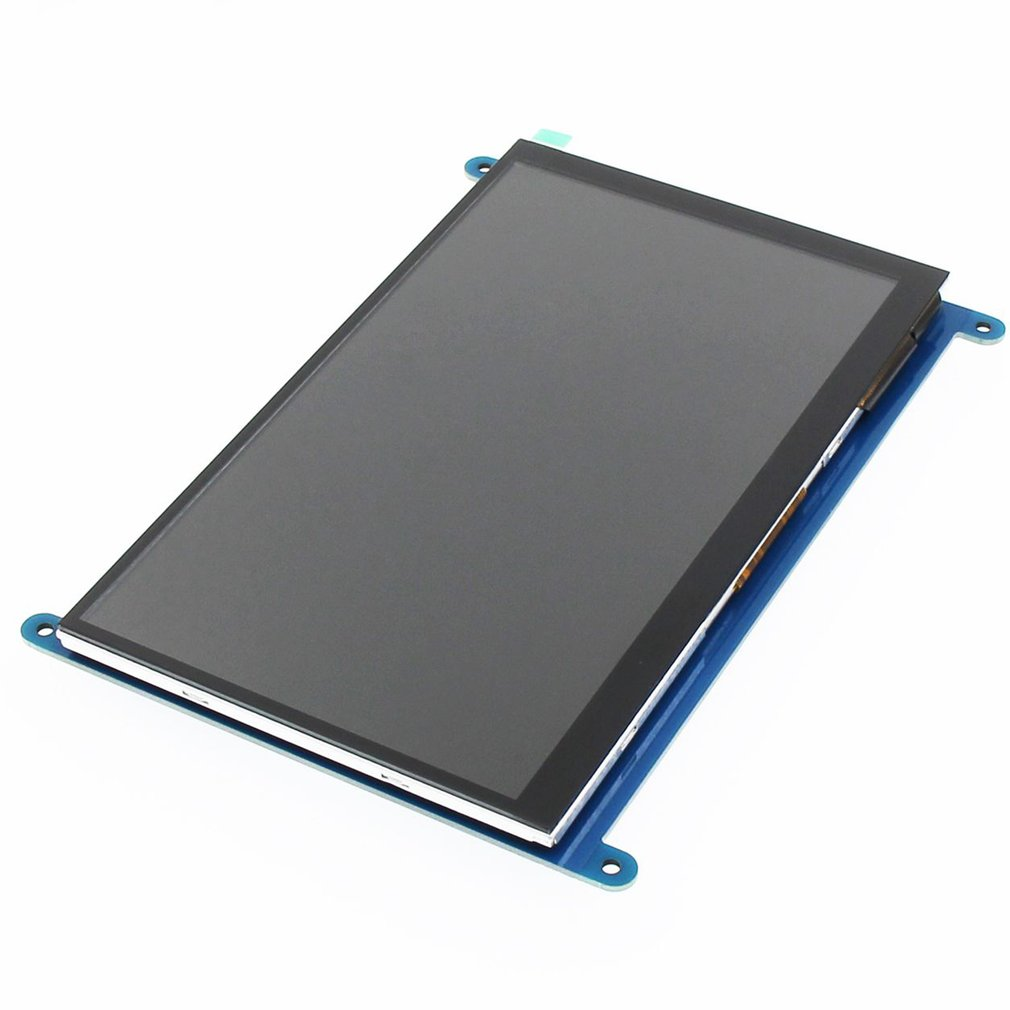 7/5/4/3. monitor LCD de 5 pulgadas HDMI 1024X600 pantalla táctil HD pantalla capacitiva para Raspberry Pi 4 Modelo B 3B +/3B/2B/B + pantalla táctil