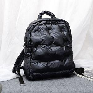 Image 1 - 2020秋と冬の新韓国ブームファッション宇宙の綿の空気大容量防水ビジネスバックパック