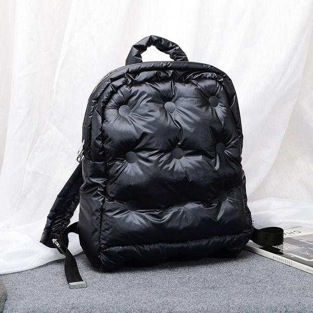 2020秋と冬の新韓国ブームファッション宇宙の綿の空気大容量防水ビジネスバックパック