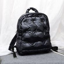 Sac à air en coton unisexe, grande capacité, sac à dos étanche, nouvelle collection automne et hiver à la mode coréenne 2020