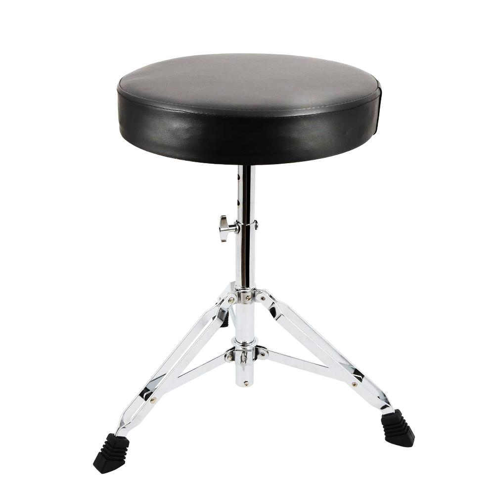 Universal Drum Throne Padded Drum Seat Portable Height Adjustable Drumming Stools For Kids & Adult