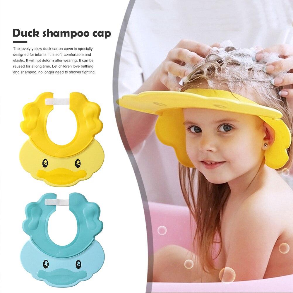 Baby Kinder Einstellbar Shampoo Bad Kappe Kinder Wasserdichten Safe Dusche Kappe Bad Visier Hut Einstellbare Dusche Schützen Augen Zugang