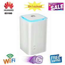Разблокированный huawei E5180 E5180s-22 4G LTE Cube 150 Мбит/с 4G CPE wifi маршрутизатор