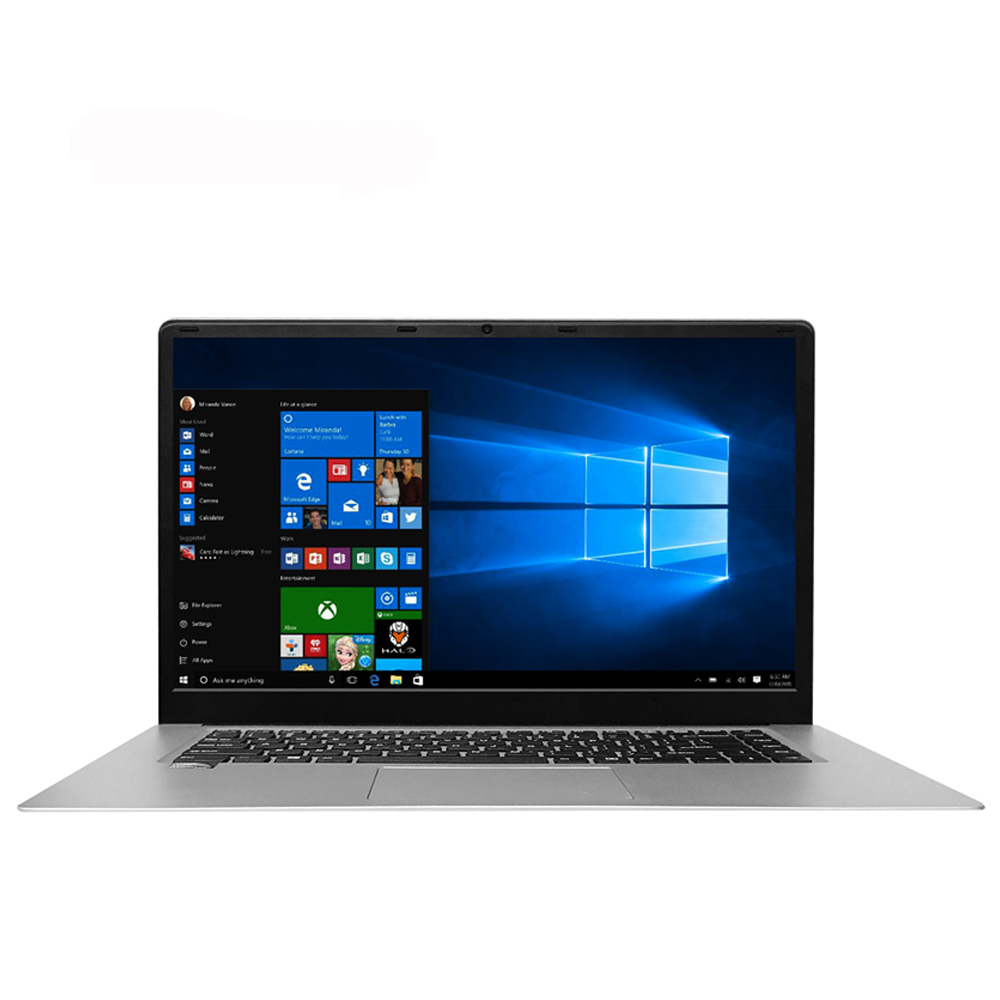 Super Thin Laptop  Notebook RAM 4G Support Ssd 15.6 Inch