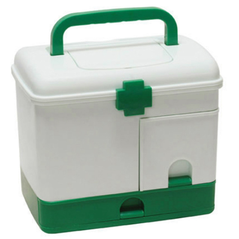 First Aid Kit Box Medicine Medical Storage Box Medical Plastic Drug Gathering Organizer Boxes Storage Container