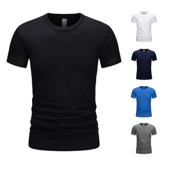 TIMALL  Printing Cotton T Shirt Unisex Casual Silm Fit Tee Men Short Sleeve Women