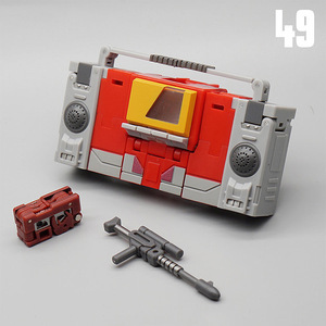 Image 4 - MFT Transformation MF 49 MF49 Blaster Emitter Recorder Model Pocket War MechFans Action Mini Figure Robot Toys 12cm with box