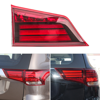 DWCX Red Car Right Rear Inner Side Tail Light Lamp Fit for MITSUBISHI OUTLANDER 2016 2017 2018