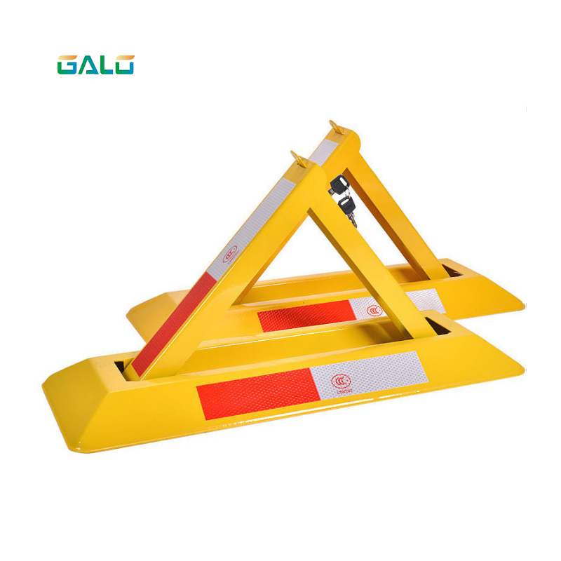Parking Locks For Parking Spaces; Triangular Waterproof And Anticorrosive Parking Spaces Parking Barrier Parking Lock Parking Bl
