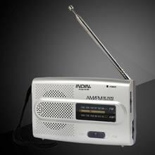 Tragbare AM/FM Radio Handheld Pocket Radio mit Kopfhörer Jack Kleine Kompakte Größe Aktive Sport Tragbare Walk Run oder jogging