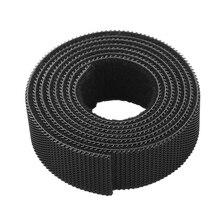 1-н-ролл многоразовые крепления скрепленная проволокой кабельные стяжки Шнур Веревка кабель Управление с застежкой-липучкой нейлоновые крепления лента кабель ремни