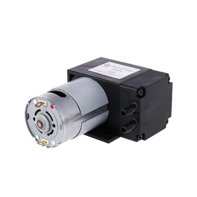 12 6v ミニ真空ポンプ 8L/分高圧吸引ダイヤフラムはホルダー