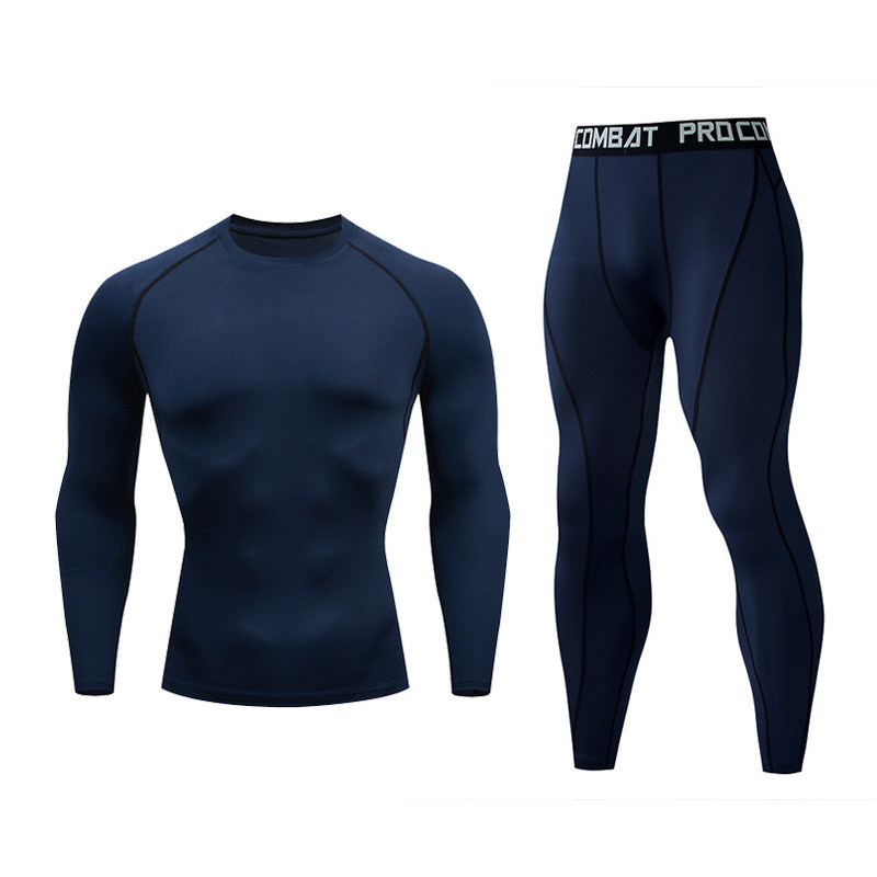 Mma Kickboxing Sets Rashguard T-shirts+pants Men  Bjj GI Jiu Jitsu Muay Thai Boxing Jerseys Long Sleeve Boxeo Fitness Sportsuit