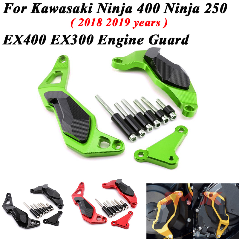 Right Engine Case Cover Crash Pad Slider For KAWASAKI Versys Ninja 1000 Z1000SX