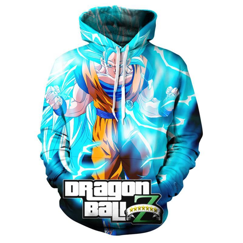 Dragon Ball Z Goku 3D Hoodie Coat Men Women Sweatshirts 3D Hoodies Pullovers Outerwear Hoodie Jacket Tracksuits Streetwear Hoody