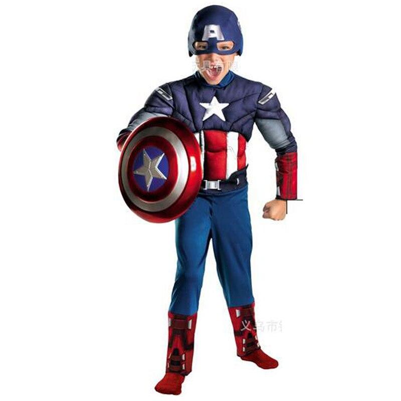 Детские Рождественские костюмы TPRPCO на Хэллоуин для мальчиков и девочек, карнавальные костюмы Капитана Америка для детей, маскарадный щит, мусель|party costume|costumes halloween costumescaptain america avengers costume | АлиЭкспресс