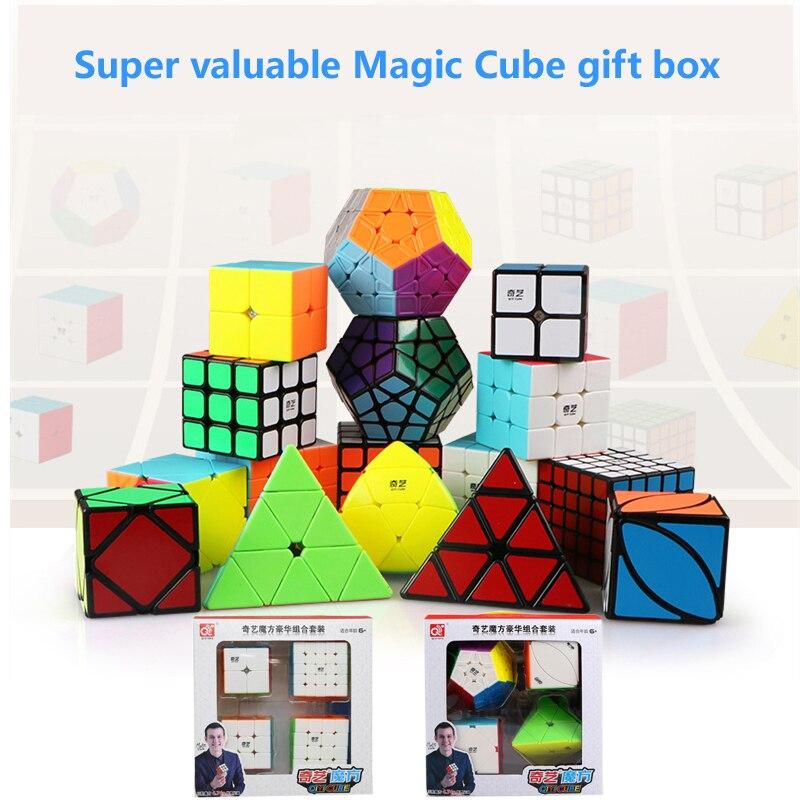 qiyi conjunto de cubos magicos velocidade 2x2x3x3 04