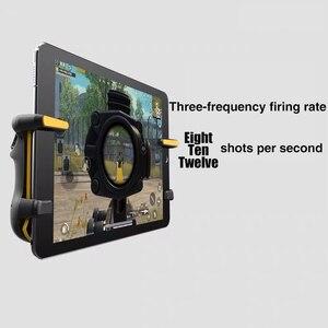 Image 5 - for PUBG Trigger Controller Capacitance L1R1 Aim Button Gamepad Joystick For Tablet Phone FPS Game Triger Joystick Accessories