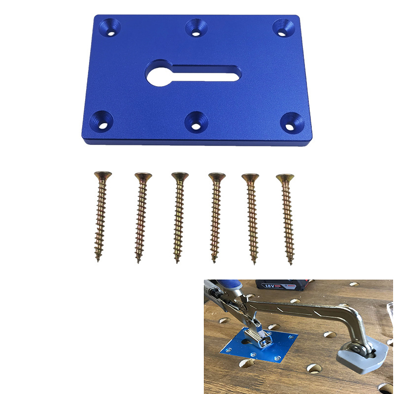 Woodworking Table Fixture Fixing Pliers Fixed Mounting Plate Pliers Fixing Fixture