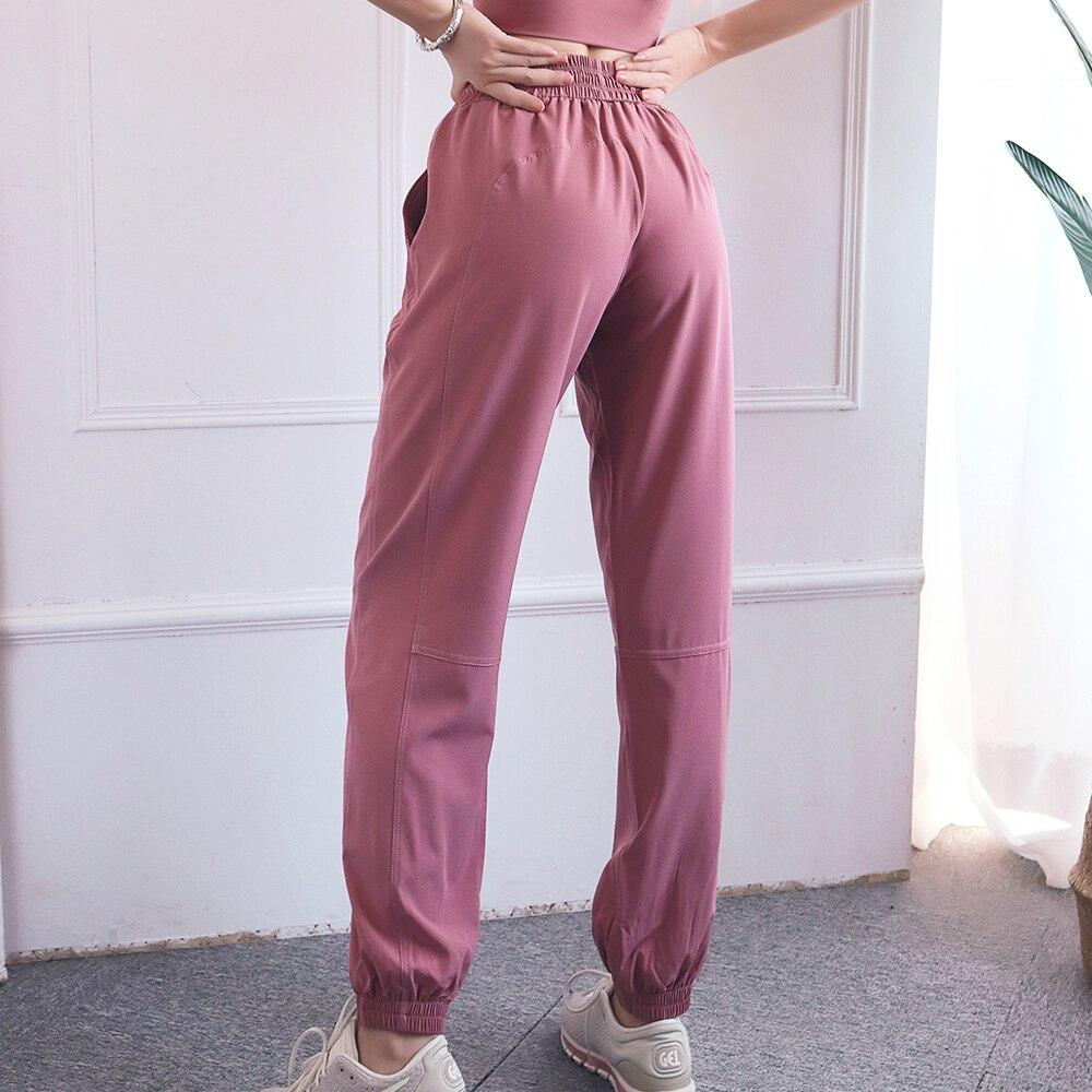 Women s Fitness Casual Drawstring Seamless Buttocks Gymwear Workout Running Activewear Yoga Pant Loose Trainning Wear