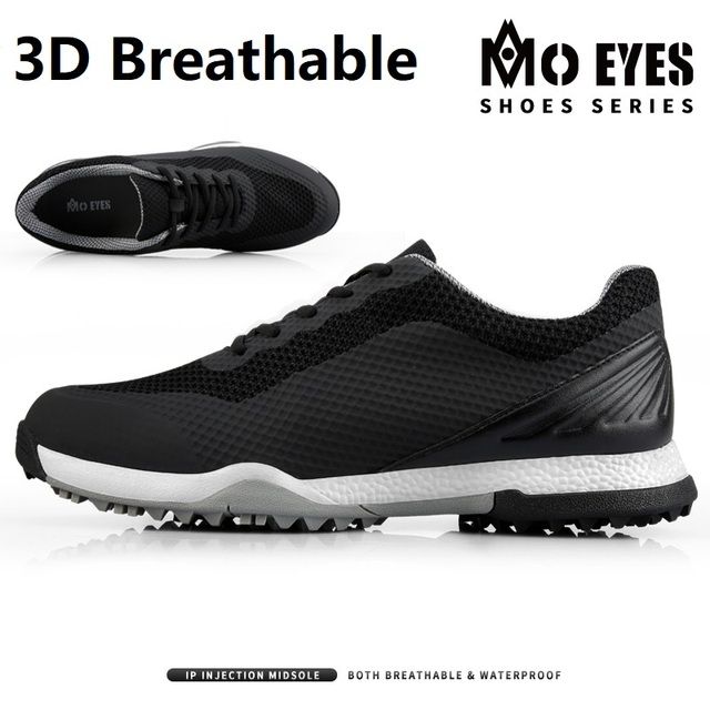 Golf Shoes Mens Sneakers Anti skid Sole Breathable Sneakers Waterproof Soft Golf Shoes for Men Training Sports Shoes