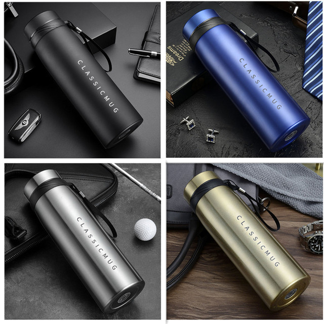 1500ml/1100ml/650ml Portable Double Stainless Steel Vacuum Flask Coffee Tea Thermos Sport Travel Mug Large Capacity Thermocup 3