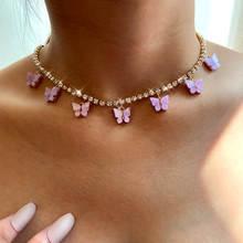 Женское Ожерелье flatfoosie модное Очаровательное ожерелье с